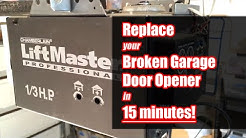 Change Garage Door Opener