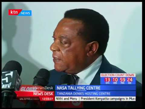 Tanzania denies hosting centre: NASA tallying centre