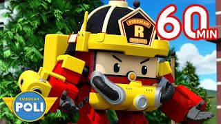 Robocar POLI Full Episodes  Jaywalking is Dangerous +  Cartoon for Kids  Robocar POLI TV