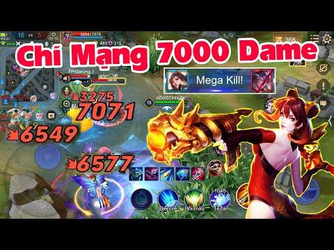 Đồ Cho Violet Chí Mạng 7000 Dame   Violet Đi Rừng Ăn Mega Kill Bắn Nát Team Bạn   Liên Quân