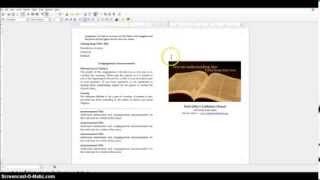 How to create a bulletin