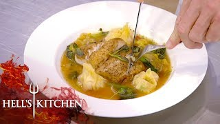 Chefs Try Recreating Gordon Ramsay's Dish   Hell's Kitchen