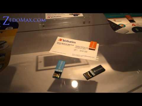 Verbatim Paper Clip USB Review!