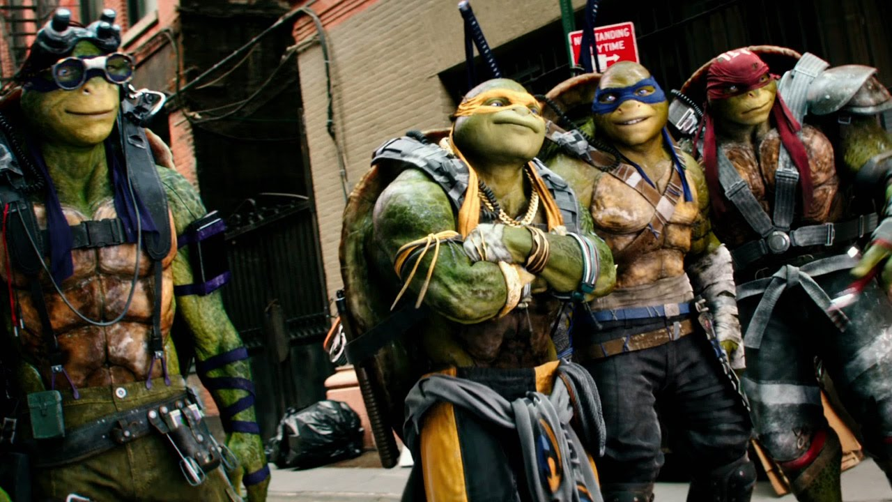 Teenage Mutant Ninja Turtles 2 Trailer (2016)