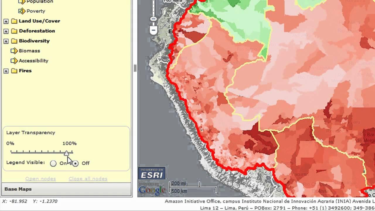 Geospatial Data Amazon Initiative Map Server Youtube