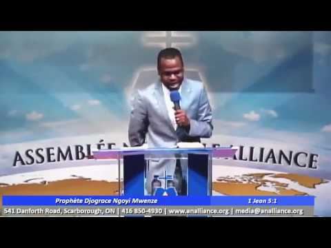 Prophète DjoGrace à l'assemblée nouvelle alliance 2017