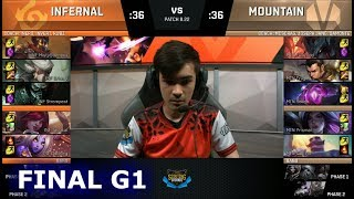 Infernal vs Mountain | Game 1 Finals NA Scouting Grounds 2018 | INF vs MTN G1