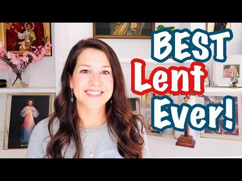 BEST LENT EVER || 2021 Catholic