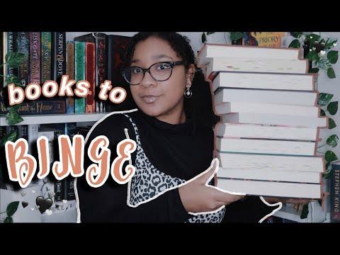 reading slump book recommendations | bingeworthy books ✨