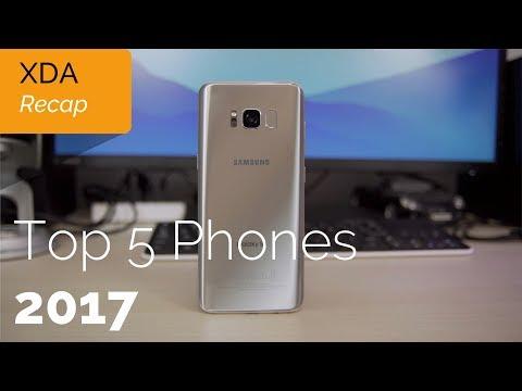 Top 5 Best Phones of 2017