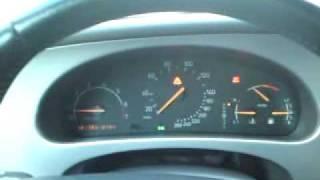 Saab airbag light