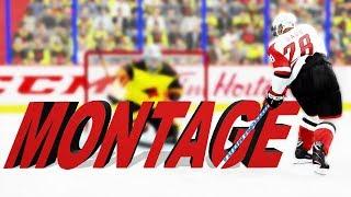 NHL 18 MONTAGE - Beautiful Goals And Skills - EASHL and HUT