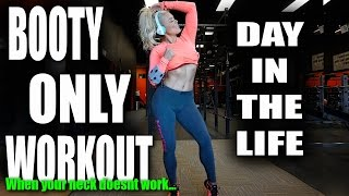 Glute workout & day in the life