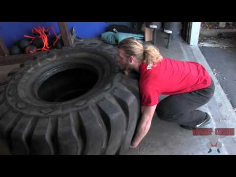 How To Flip A Tire: Impromptu Edition