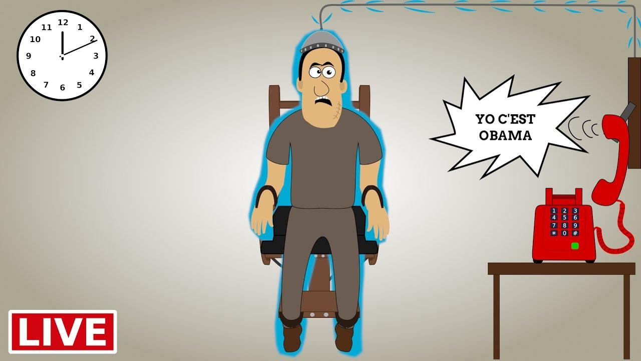 Ex cution sur la chaise lectrique youtube - Execution en direct chaise electrique ...