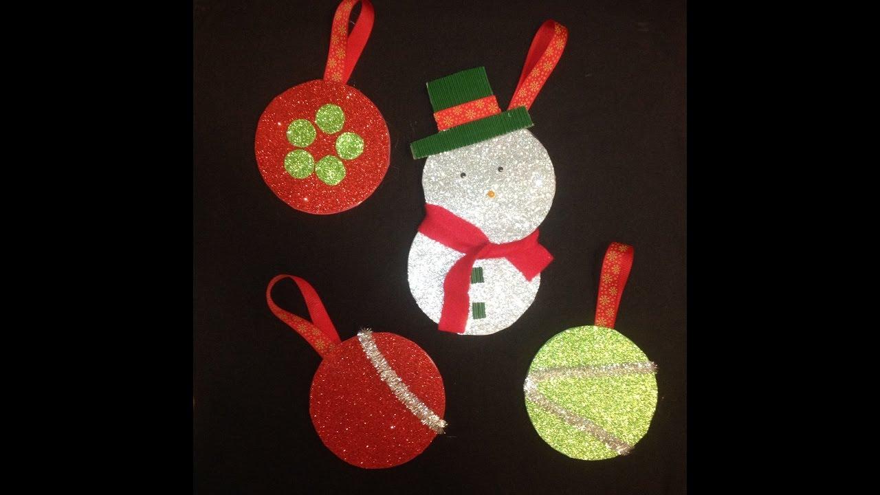 Como hacer adornos de navidad reciclando cd o dvd youtube - Como hacer adorno de navidad ...