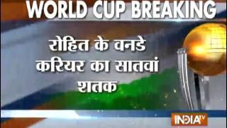 India vs Bangladesh: Rohit's Century Helps India to Post 302 Runs in Quarter-finals - India TV
