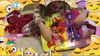 Утро дня рождения ! Новые куклы девочки Эквестрии -Искорка и Сансет Шиммер