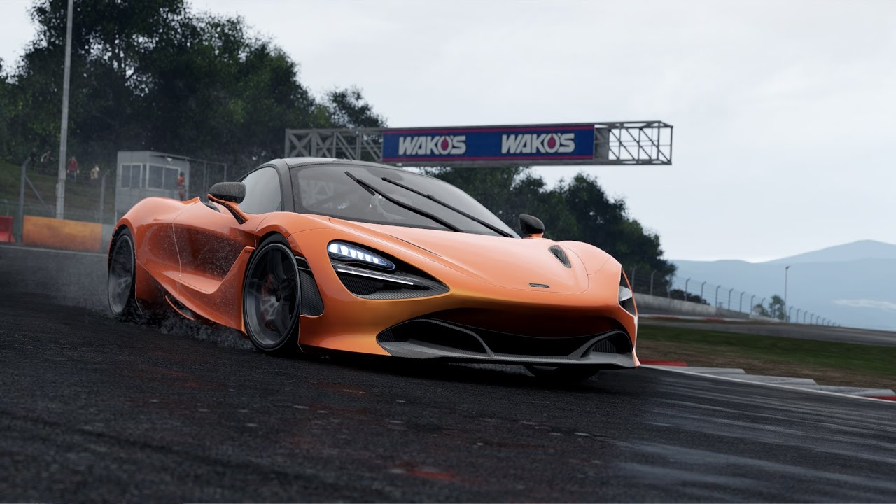 Project Cars 2 Mclaren 720s Trailer Youtube