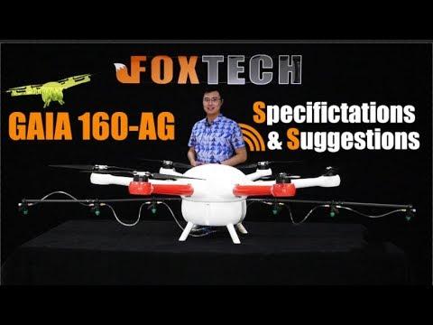 GAIA 160AG-Agricultural Hexacopter Frame