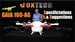 Agriculture Drone丨GAIA 160-AG丨Specification and Suggestions