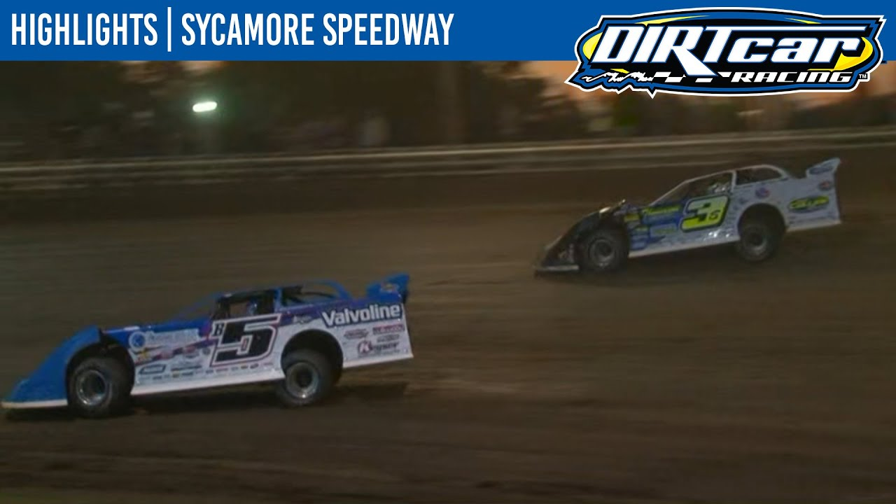 DIRTcar Summer Nationals Late Models Sycamore Speedway August 11, 2020 | HIGHLIGHTS