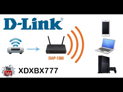 #D-LINK DAP-1360 Access Point Unboxing 2014 | جهاز د لينك