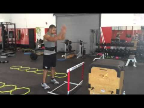 NFL Tight End Clay Harbor Xtreme Speed Workout