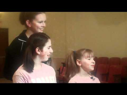 WHEC's Janet Lomax interviews Billy Elliot's Alison, Brionna & Rebecca