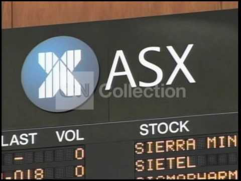 SYDNEY STOCK EXCHANGE