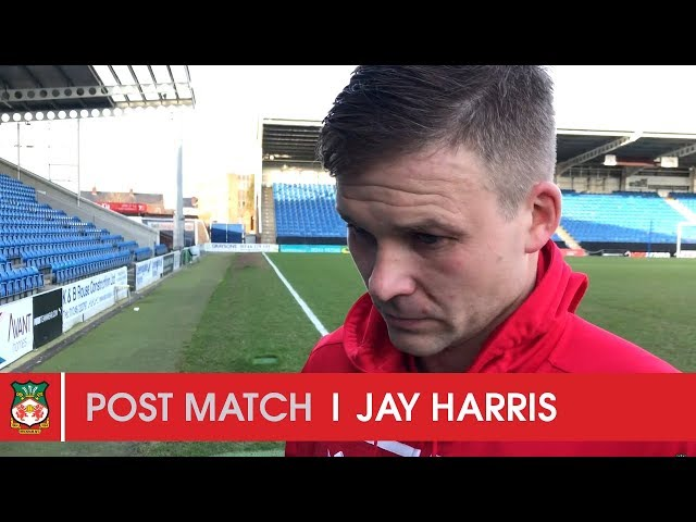 WATCH | Jay Harris after Chesterfield