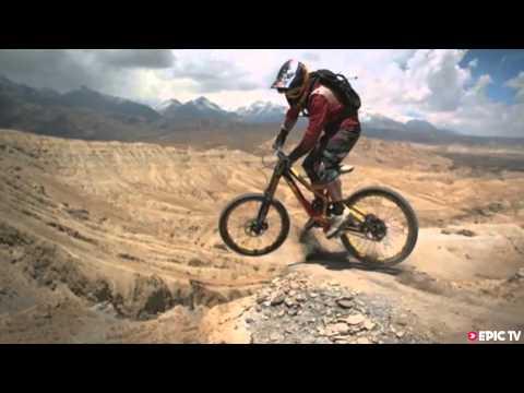 Darren Berrecloth, Mountain Bike Freerider Takes On Dan Milner's 10x10