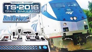 Train Simulator 2016 and Raildriver (First Look)