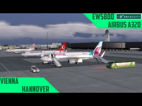 [P3D] D1/F1: Vienna - Hannover/EW5800 | LoaP Day 1 Flight 1 [german/a320]