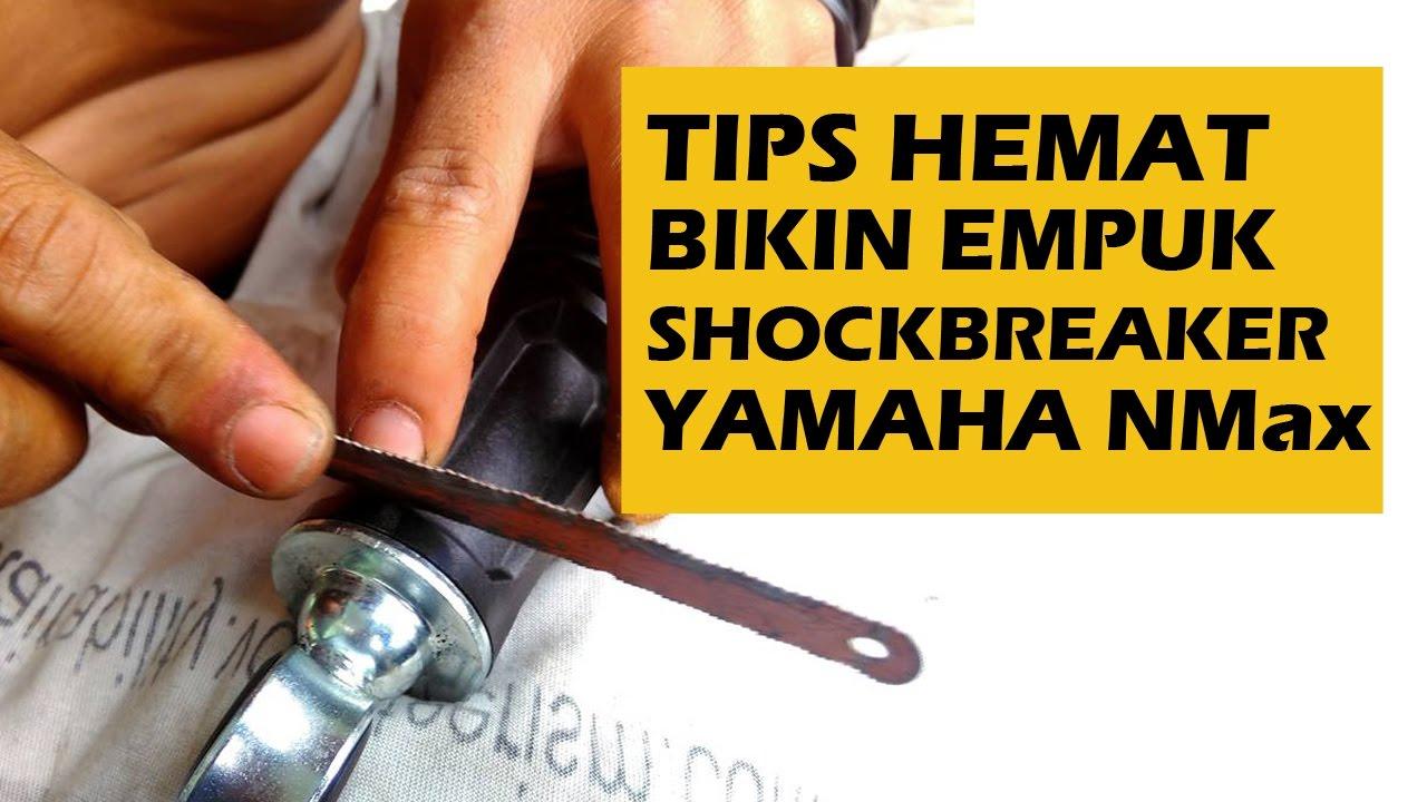 Tips Hemat Bikin Empuk Shock Belakang Yamaha Nmax Tanpa Perlu Ganti Shockbreaker 155 Ohlins Plus Tabung Khusus Nmaxshockbreaker Absorber Motorcycle