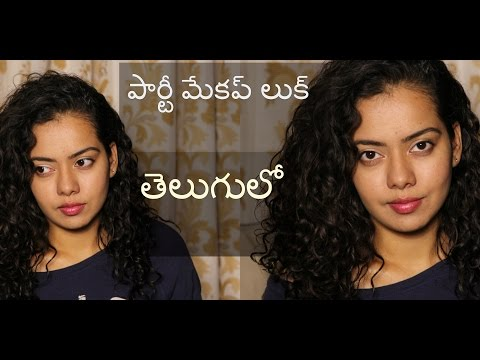 Chit chat GRWM in TELUGU | Simple party makeup look