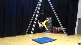 Amy - BEST FLEXIBILITY & 3rd place - Youth Aerial Hoop Competition - 14 & under