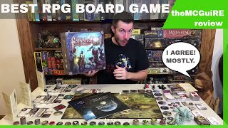 FOLKLORE THE AFFLICTION Board Game Review