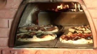 4 PIZZE nel Pizzone, le pizze di Marco Romano con il forno Pizza Party (forno a legna portatile)