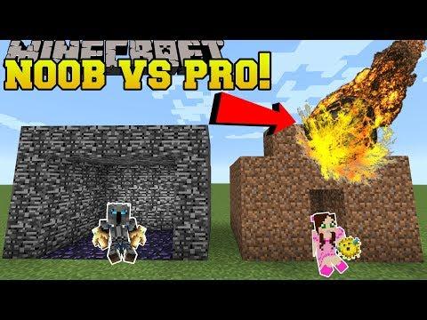 Minecraft: NOOB VS PRO!!! - SUPER BOMB SURVIVAL GEN 3! - Mini-Game