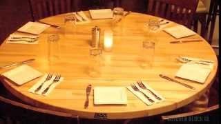 John Boos Dining Table Tops | Butcher Block Co.