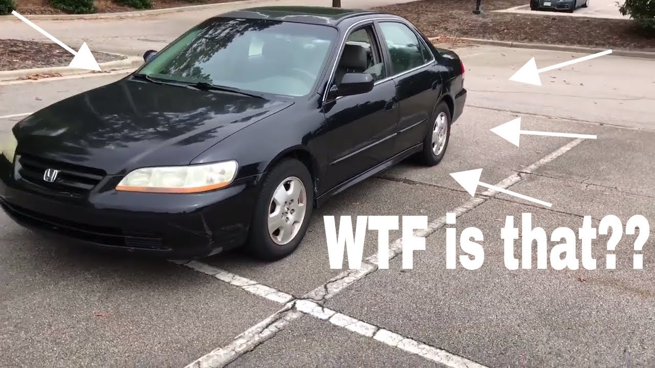hight resolution of 2002 honda accord ex 3 0 v6 start up exhaust and flybys short walkaround tour