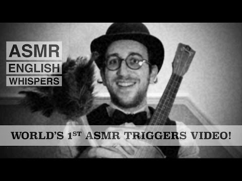 ASMR - World's 1st Triggers Video Discovered! 7 Old Fashioned Triggers to Help You Sleep!