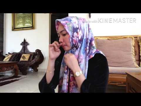 Hijab Simple Ala Laudya Chintya Bella Baru