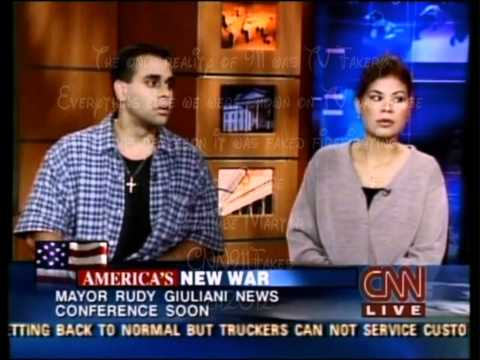 911 Paula Zahn interviews sister and brother of Cantor Fitzgerald 9/11 victim Carlos Morales