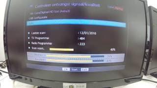 Handmatig zenderlijst laden via FASTSCAN - M7 SAT801 [SAT4U]