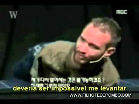 Nick Vujicic Palestra Motivacional Sem Braços Sem Pernas
