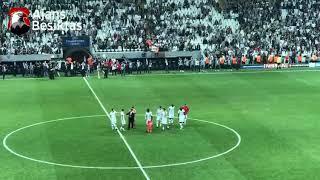 Oğuzhan soyunma odasından takımı çağırdı, Cenk üçlü çekti! (Beşiktaş:2 - Leipzig:0)