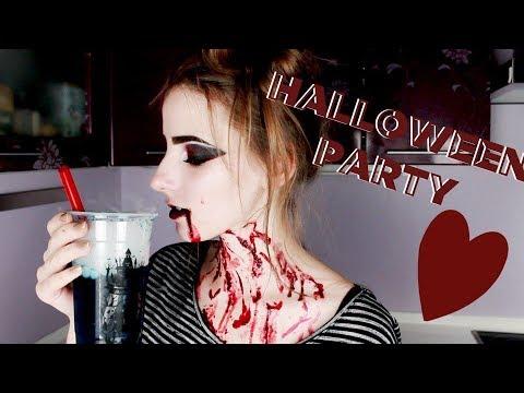 Что Нужно Для Вечеринки в стиле Хеллоуин! Напитки, Еда, Макияж - Видео онлайн