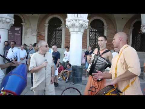24.06.2013 Hari Nama Prabhavishnu Prabhu Italy Venice Saint Mark fully